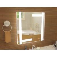 Зеркало с подсветкой для ванной комнаты Витербо 40x40 см