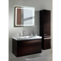 Квадратное LED зеркало с подсветкой в ванной Катро 90x90 см