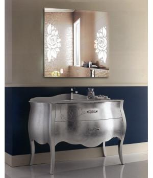 Зеркало для ванной с LED подсветкой София 50x50 см