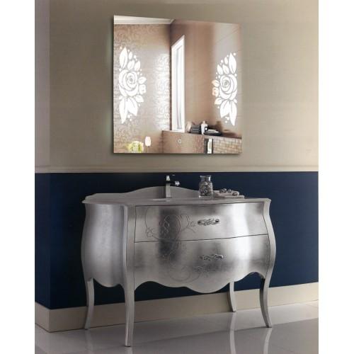 Зеркало для ванной с LED подсветкой София 90x90 см